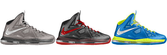 LeBron X+ Sport Pack iD