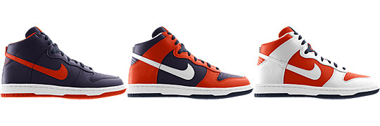 Nike Dunk High (NFL Chicago Bears) iD