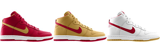 Nike Dunk High (NFL San Francisco 49er) iD