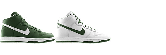 Nike Dunk High (NFL New York Jets) iD