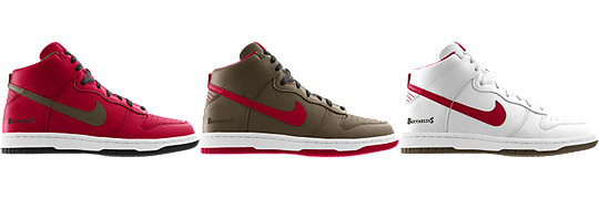 Nike Dunk High (NFL Tampa Bay Buccaneers) iD