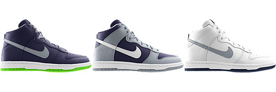 Nike Dunk High (NFL Seattle Seahawks) iD