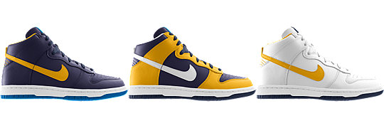 Nike Dunk High (NFL San Diego Chargers) iD