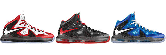 LeBron X P.S. Elite+ iD Sport Pack