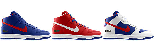 Nike Dunk High (NFL Buffalo Bills) iD