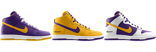 Nike Dunk High (NFL Minnesota Vikings) iD