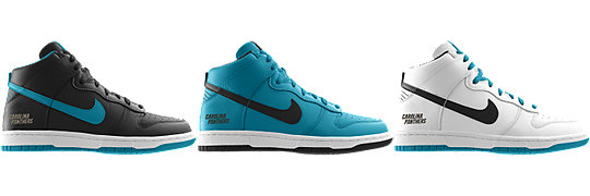 Nike Dunk High (NFL Carolina Panthers) iD