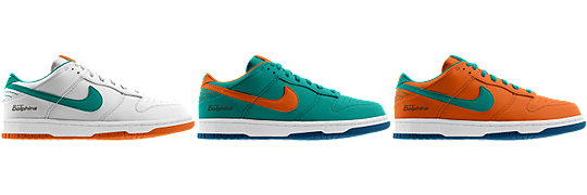 Nike Dunk Low (NFL Miami Dolphins) iD