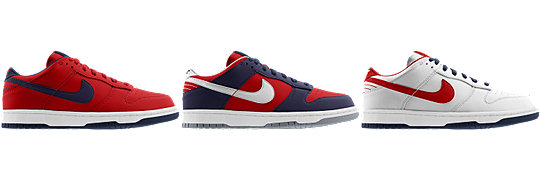 Nike Dunk Low (NFL New England Patriots) iD