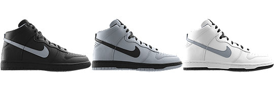 Nike Dunk High (NFL Oakland Raiders) iD