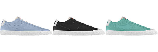 Nike Blazer Low Wildleder iD