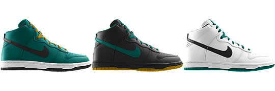 Nike Dunk High (NFL Jacksonville Jaguars) iD