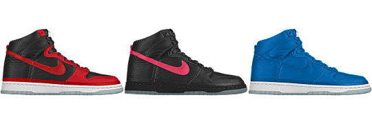 Nike Dunk High iD x NYLON