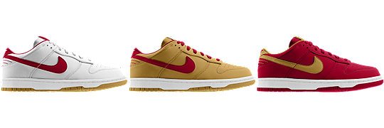 Nike Dunk Low (NFL San Francisco 49ers) iD