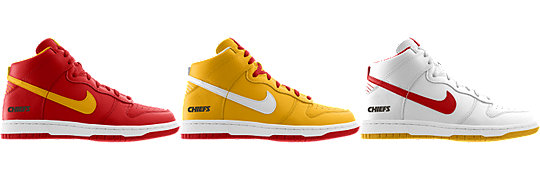 Nike Dunk High (NFL Kansas City Chiefs) iD