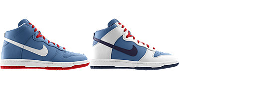 Nike Dunk High (NFL Tennessee Titans) iD