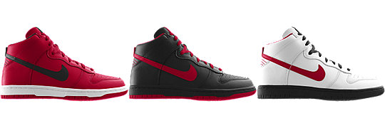 Nike Dunk High (NFL Atlanta Falcons) iD