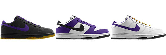 Nike Dunk Low (NFL Baltimore Ravens) iD