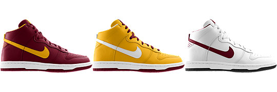 Nike Dunk High (NFL Washington Redskins) iD