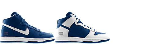 Nike Dunk High (NFL Indianapolis Colts) iD