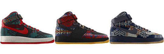 Nike Air Force 1 High Premium Pendleton iD