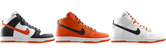 Nike Dunk High (NFL Cincinnati Bengals) iD