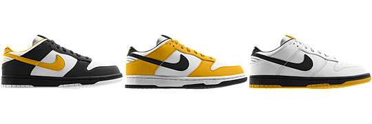 Nike Dunk Low (NFL Pittsburgh Steelers) iD