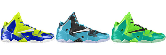 LeBron 11 FORGING IRON iD