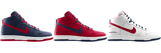 Nike Dunk High (NFL Houston Texans) iD