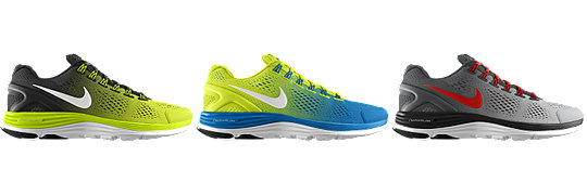 Nike LunarGlide+ 4 iD