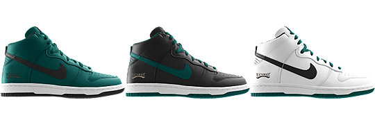 Nike Dunk High (NFL Philadelphia Eagles) iD