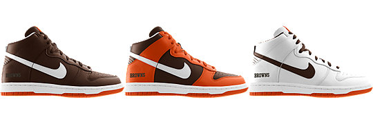 Nike Dunk High (NFL Cleveland Browns) iD