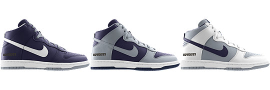 Nike Dunk High (NFL Dallas Cowboys) iD