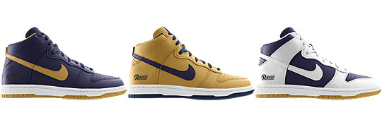 Nike Dunk High (NFL St. Louis Rams) iD
