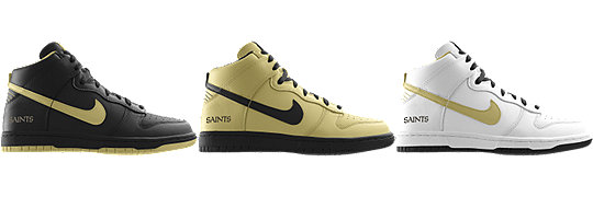 Nike Dunk High (NFL New Orleans Saints) iD