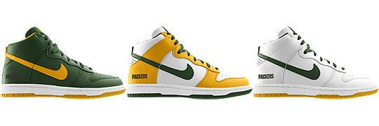 Nike Dunk High (NFL Green Bay Packers) iD