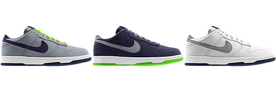 Nike Dunk Low (NFL Seattle Seahawks) iD