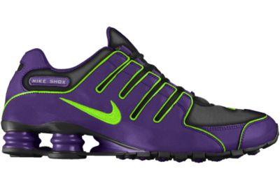 Zapatillas Nike Shox NZ iD - Chicos - Purple - 3.5Y
