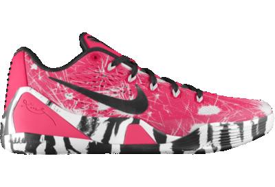 a0a85f99209 Nike Kobe 9 iD Custom Basketball Shoes Pink on PopScreen