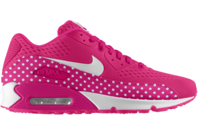 official photos d6dc4 6c15b Nike Air Max 90 Engineered Mesh iD Custom Kids Shoes (3.5y 6y) Pink