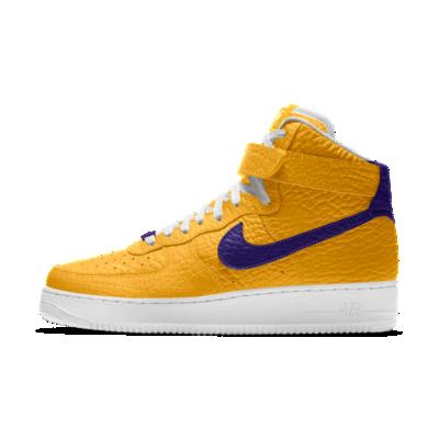Nike Air Force 1 High Premium iD (Los Angeles Lakers)