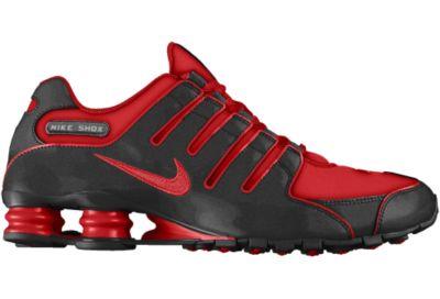 Nike Shox NZ iD Shoe - Rojo - 7.5