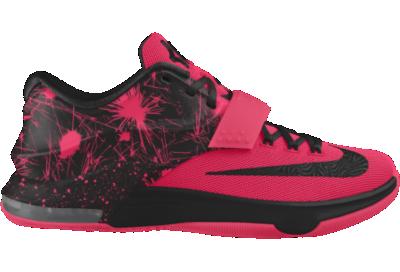 44901918fc2 Nike KD7 iD Custom Basketball Shoes Pink on PopScreen