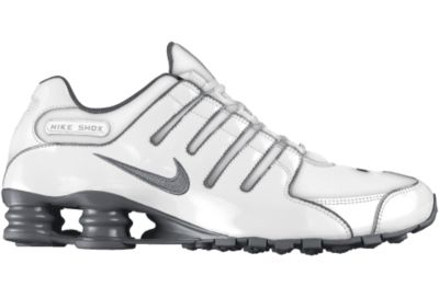 Nike Shox NZ iD Shoe - Blanco - 10.5