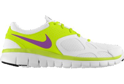 f189530039a7f Nike Flex 2012 Run iD Custom (Wide) Womens Running Shoes Yellow on ...