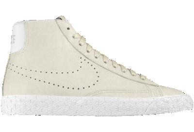 new concept 771c3 6ecfc Nike Blazer Mid Premium iD Custom Mens Shoes White
