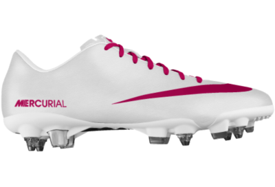Cheap Nike Mercurial Veloce SG-Pro iD Custom Women s Soccer Cleats - White 434401979