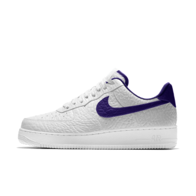 Image of Nike Air Force 1 Low Premium iD (Los Angeles Lakers)