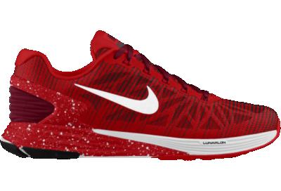 18803fe2f695 ... get id rojo nike lunar glide 6 lightweight running shoe .. 1717f a5daf