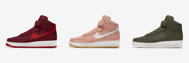 separation shoes 65edd 8bdf1 Customize CUSTOMIZE IT WITH NIKE BY YOU. Prev. Next. 7 Colors. Nike Air  Force 1 High By You. Custom Women s Shoe